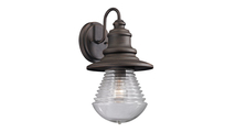 Westport Outdoor Wall Sconce in Weathered Charcoal