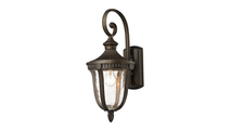 Worthington Outdoor Wall Sconce in Weathered Rust