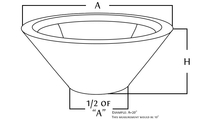 stainless steel round fire bowl diagram