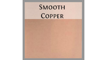 Smooth copper finish