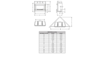 Specs for Carol Rose Outdoor Traditional Stainless steel gas fireplace 36 inch