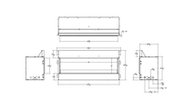 Specs for Empire Carol Rose outdoor linear gas fireplace 60 inch