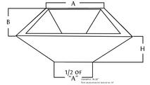 diagram for copper square fire bowl