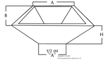 diagram for copper square fire bowl