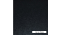 Velvet Black Finish
