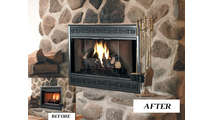 Before & After: Brookfield ZC Deluxe Refacing makeover! (shown with Scroll louvers)