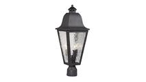 Forged Brookridge Outdoor Post Mount Light