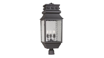 Forged Lancaster Outdoor Post Mount Light