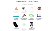 Landscape Full View Standard Features