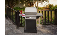 TEC Patio FR Infrared Grill On Black Pedestal 26 Inch