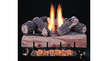 Chillbuster Log with Split Side of Reversible Front Log Showing