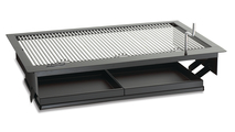 Firemaster Drop In Charcoal Grill 31 Inch