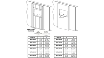 Specs for the Alluravision slimline electric fireplace 60 inch