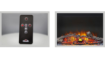 Included accessories for Cinema Log Electric Fireplace 24 inch