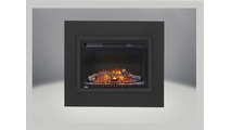 Optional 4 piece trim kit for the Cinema Log Electric Fireplace 24 inch