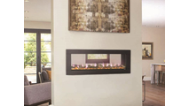 Clearion Series See Thru Electric Fireplace 50 Inch