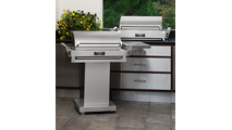 TEC G-Sport FR Infrared Grill On Stainless Steel Pedestal 36 Inch