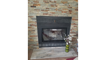 Nightwell ZC Fireplace Door - installed by happy customer!