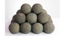 Coal Rustic FireBall 18 Inches