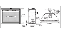 Ascent series direct vent gas fireplace 46 inch specs
