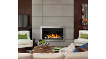 Ascent Linear Series Direct Vent Gas Fireplace 36 Inch