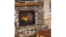 Ascent See Thru Direct Vent Gas Fireplace