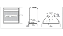 Specs for the Ascent X 70 Direct Vent Gas Fireplace