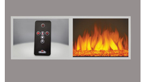 Included accessories with the cinema glass electric fireplace 29 inch