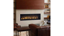 Luxuria Series Direct Vent Gas Fireplace 62 Inch