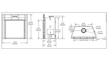 Specs for starfire direct vent gas fireplace 52 inch