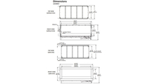 Specs for the Galaxy See Thru Outdoor Gas Fireplace 48 Inch
