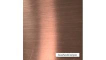 Trim, Handles, Hinges = Brushed Copper overlay finish