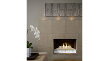 G21 Burner in Fireplace