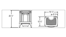 Specs for the Arlington Vent Free Gas Stove