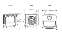 Specs for the Banff 1100 Wood Stove