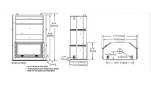 Specs for the High Country Wood Burning Fireplace 7000