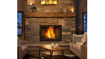 High Country Wood Burning Fireplace 8000