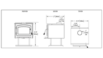 Specs for the Independence Wood Stove