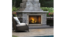 Riverside Vent Free Clean Face Outdoor Gas Fireplace 42 Inch