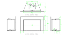 Specs for the Franklin Large cf direct vent gas fireplace insert
