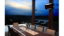 Mount the Platinum 300 Gas Heater in your outdoor living space