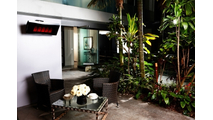 Mount the Platinum 500 Gas Heater in your outdoor living space