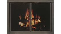 Mesh ZC Fireplace Door - Oil Rubbed Bronze - Square Handles