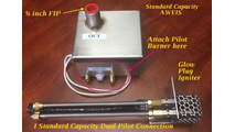 Easy to read diagram for the standard capacity commercial grade AWEIS