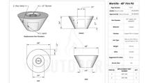 Martillo fire pit 48 inch specs sheet