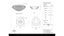 Orion stainless steel fire pit specs sheet