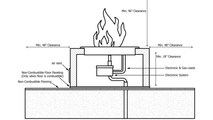 Quad 36 inch copper fire pit install diagram