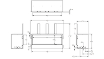Specs for Empire Carol Rose outdoor linear gas fireplace 48 inch