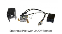 The Electronic Pilot Kit (EPK-2) is a non standing pilot that is powered by a 2D cell battery.