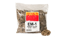 You'll receive a 6 ounce bag of glowing embers for your ember bed
